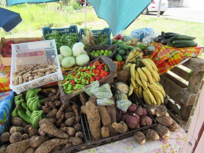 jennifers fruit and veg stall