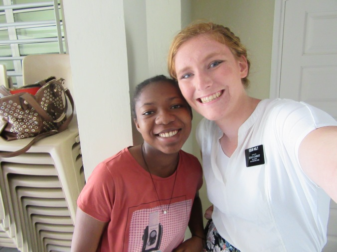 sr amounsouga, her brother is serving in downham!!