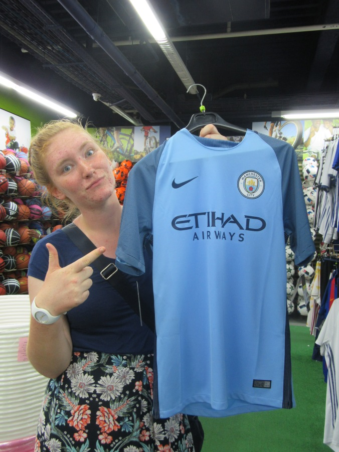 you can take the girl out of manchester...