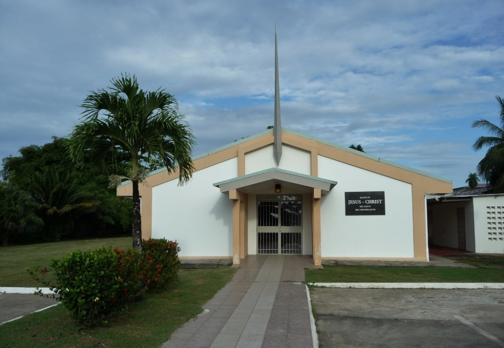 Cayenne Chapel in French Guiana