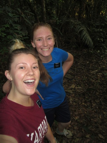 we went on a hike in tyhe jungle!! I have never sweat so much!! the humidity!!