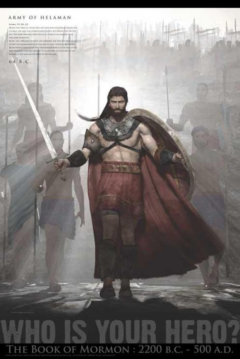 Helaman-2000-Stripling-Warriors-Book-of-Mormon-Posters