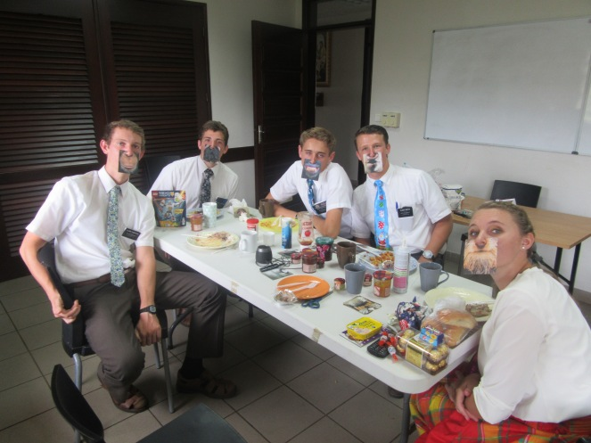 christmas breakfast with the elders