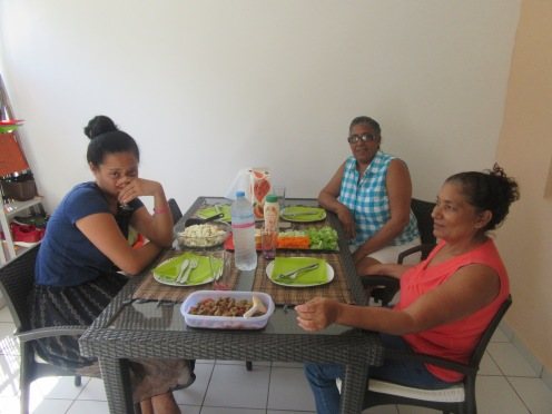 lunch chez ysmenia with mimi
